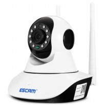 ESCAM G02 Bullet IP Camera CCTV 1/4 Inch CMOS 720P - White