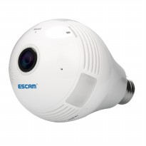 Escam Watt QP135 Bulb WiFi IP Camera 960P - White