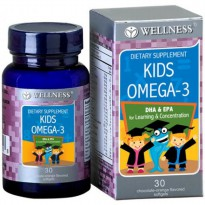 Wellness Kids Omega 3 isi 30 softgels