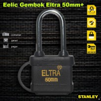 EELIC GEK-EL50MMP Gembok 50 MM Panjang Anti Air Kuat Aman Bahan Dari Stainless Steel