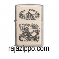 Zippo Original USA 29517 Crimshaw Liberty Eagle Emblem - Stok Lengkap & Resmi