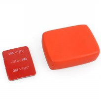 TMC Floaty Float Box with 3M Adhesive Tapes for GoPro - HR101-OR - Orange