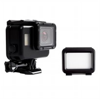 Touchscreen Waterproof Case 60m for GoPro Hero 5/6 - Black