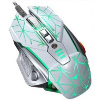 RAJFOO Gaming Mouse Laser - Model 3 - White
