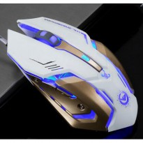 RAJFOO Gaming Mouse Laser - Model 4 - White