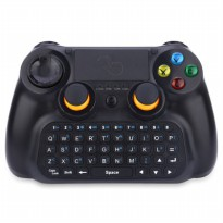 DOBE Keyboard Gamepad Wireless dengan Touch Pad - TI-501 - Black