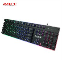 IMICE AK-700 Gaming Keyboard LED - Black