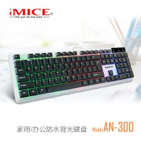 IMICE AN-300 Gaming Keyboard LED - Black