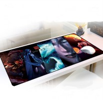 Gaming Mouse Pad Desk Mat Motif DOTA 400 x 900 mm - Multi-Color