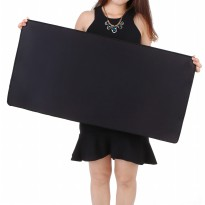 Gaming Mouse Pad Desk Mat Polos 300 x 600 mm - Black
