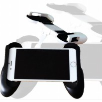 Mobile Gamepad Hand Grip Holder for Smartphone - Black