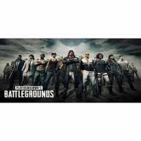Gaming Mouse Pad Desk Mat Desain Game Online 400x900x2mm - PUBG 2