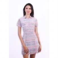 Agatha Annisa Dress 4525.D - Multicolor