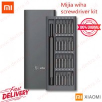 Xiaomi Mijia Wiha Obeng Set 24 in 1 Screwdriver Kit Original