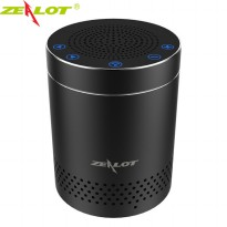 Zealot Mini Portable Bluetooth Speaker Super Bass - S15 - Black