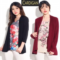 Wstag Women 2Fer Flyaway Cardigan 2in1