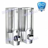 Genius Dispenser Sabun Type 211 Silver Chrome Paket 2 Pcs