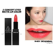 3 CE / 3CE / 3 CONCEPT EYES LIP COLOR N0 401 SCANDAL