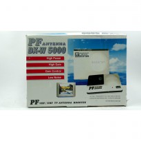 Penguat Sinyal TV / Booster Outdoor Antena TV PF DX-W5000 (ORIGINAL/ASLI)