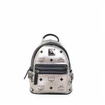 Auhentic Tas ransel MC* Stark Bebeboo Backpack Mini - Silver