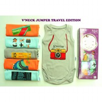 Kazel Vneck Jumper Travel Edition ( ISI  6 PCS )