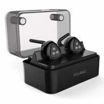 SYLLABLE D900MINI True Wireless Bluetooth Earphone with Charging Dock - Black