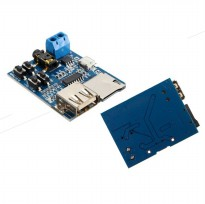 MP3 Player Decoder Module DIY Amplifier Audio USB TF Card - Blue