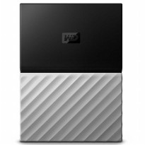 WD My Passport Ultra Metallic USB 3.0 4TB - Black/Gray
