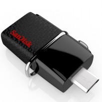Sandisk Ultra Dual OTG USB Flash Drive USB 3.0 16GB - SDDD2-016G (Bulk Packing)