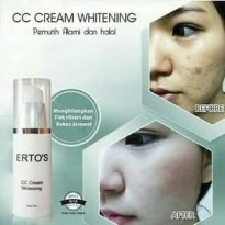 Ertos CC Cream Whitening Original