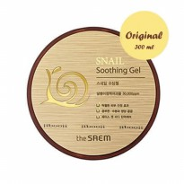The Saem Snail Soothing Gel 300ml [100% ORIGINAL MADE IN KOREA]