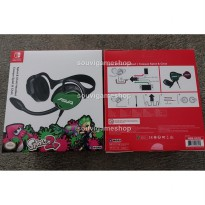 [Ready] NINTENDO SWITCH SPLATOON 2 STEREO HEADSET SPLAT & CHAT (HORI ORIGINAL)