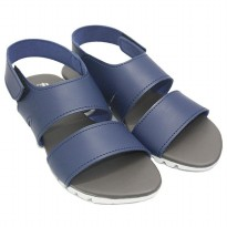 Dr. Kevin Women Flat Sandals 56002-Blue-37