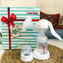 LITTLE BABY COMFORTABLE 2IN1 MANUAL BREAST PUMP / POMPA ASI MANUAL