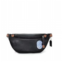 Authentic Coach Rivington Belt Bag - Black