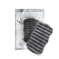 OLife Konjac Body Sponge - Black Charcoal / KSWV02