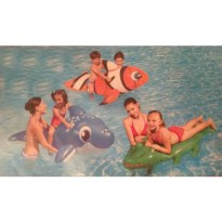 [poledit] TrueLiving Kids Animal Surf Rider Pool Toy - Clown Fish (R1)/12173278