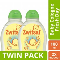 [TWIN PACK] Zwitsal Baby Cologne Natural Fresh Day - 100ML