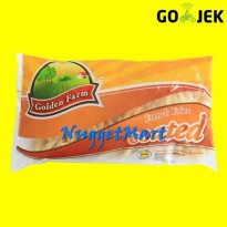 Golden Farm French Fries Coated 500 gr