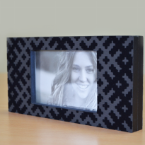 Frame Foto - Home Decor - Pf Frame Pattern Magnetic Black