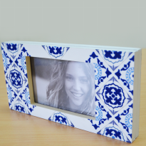 Frame Foto - Home Decor - Pf Frame Delft Magnetic Blue