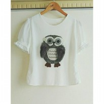 [BLOUSE] BLOUSE CUTE OWL
