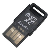 Winfos High Speed USB 2.0 MicroSD Card Reader - Black