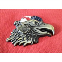 Emblem Metal Harley Eagle Bird