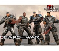 Neca Gears of War Delta Squad Set Collections