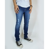 Hellocloth Celana Jeans Pria Slimfit - Biowosh Ripped