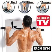[Recommended] IRON GYM (ALAT FITNES PULL UP/ ANGKAT BEBAN)