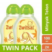 [TWIN PACK] Zwitsal Oil Natural - 100ML