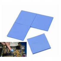 Thermal Conductive Silicone for GPU CPU Heatsink Cooling 10X10X0.1CM - Blue