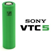Sony VTC5 18650 Lithium Ion Cylindrical Battery 3.6V 2600mAh - Green